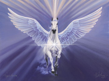 Living Joyfully: Follow your White Horse
